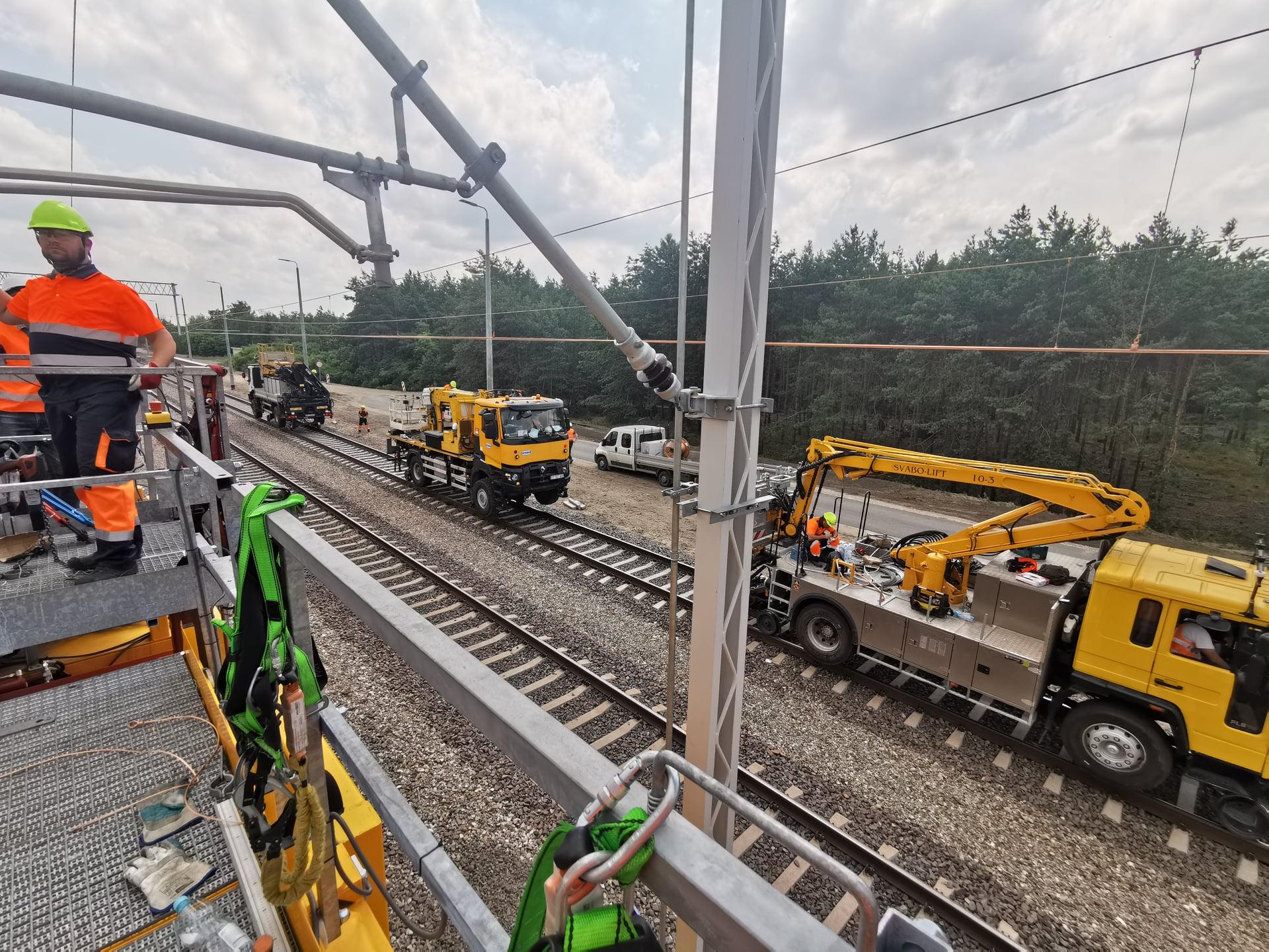Prace modernizacyjne na odcinku linii kolejowej nr 7 Dęblin – Nałęczów