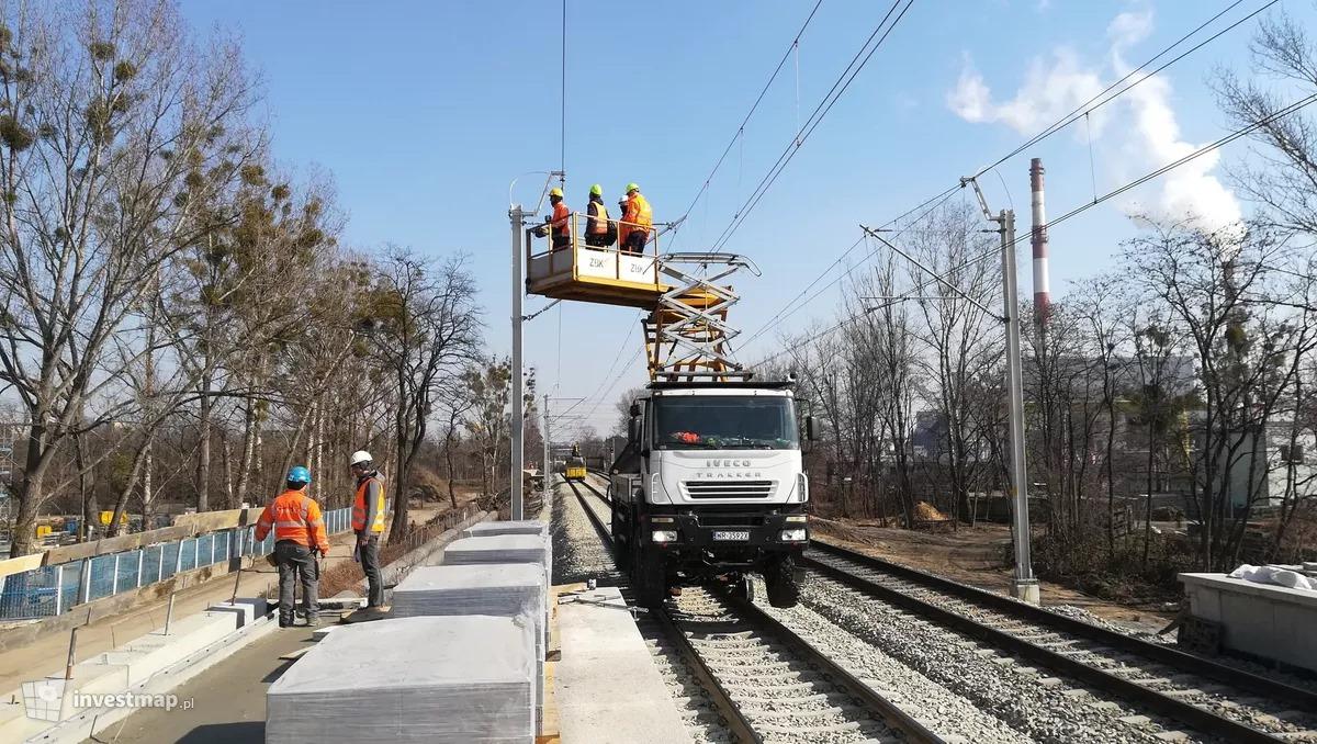 Zakończył się kolejny etap budowy przystanku kolejowego Wrocław Szczepin.